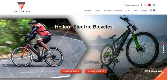 Best electric bicycles - 75 kms range, emi options? toutche