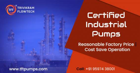 Industrial pump suppliers - pump suppliers coimbatore - tftpumps